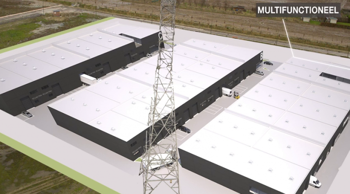 Développeurs créent parc industriel 't Sas à Kampenhout