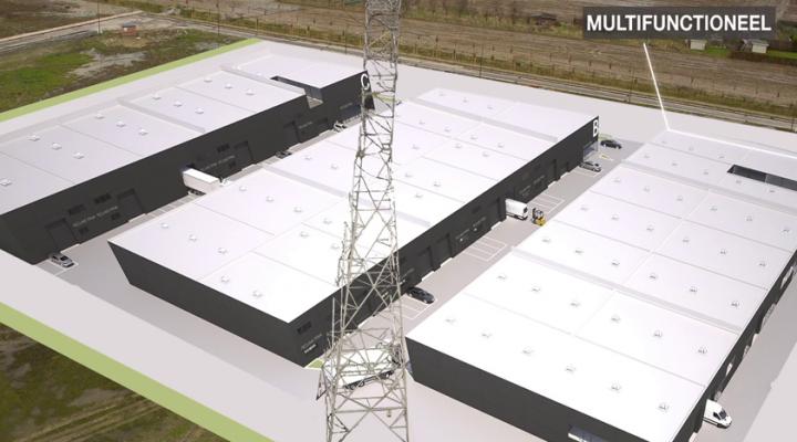 Developers create industrial park 't Sas in Kampenhout