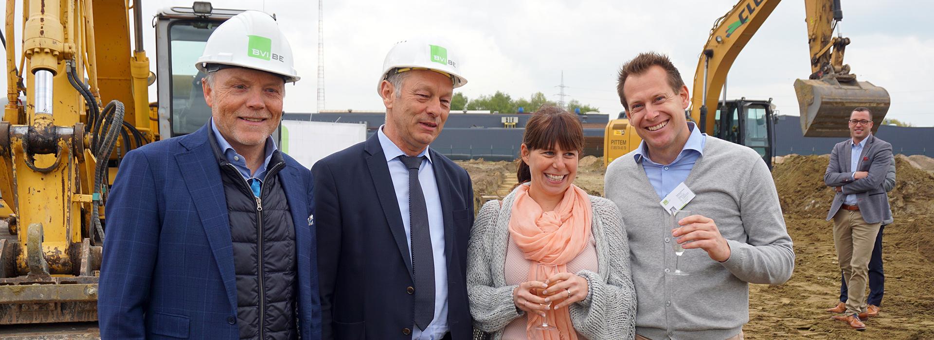 BVI.BE emmène les entrepreneurs à Aalter avec un tout nouveau parc PME