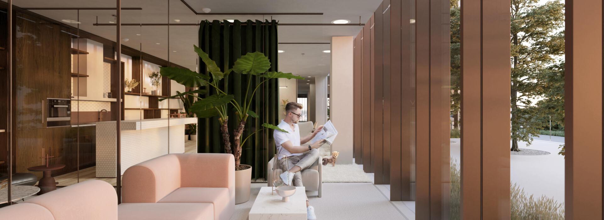 kitchenette lounge 7