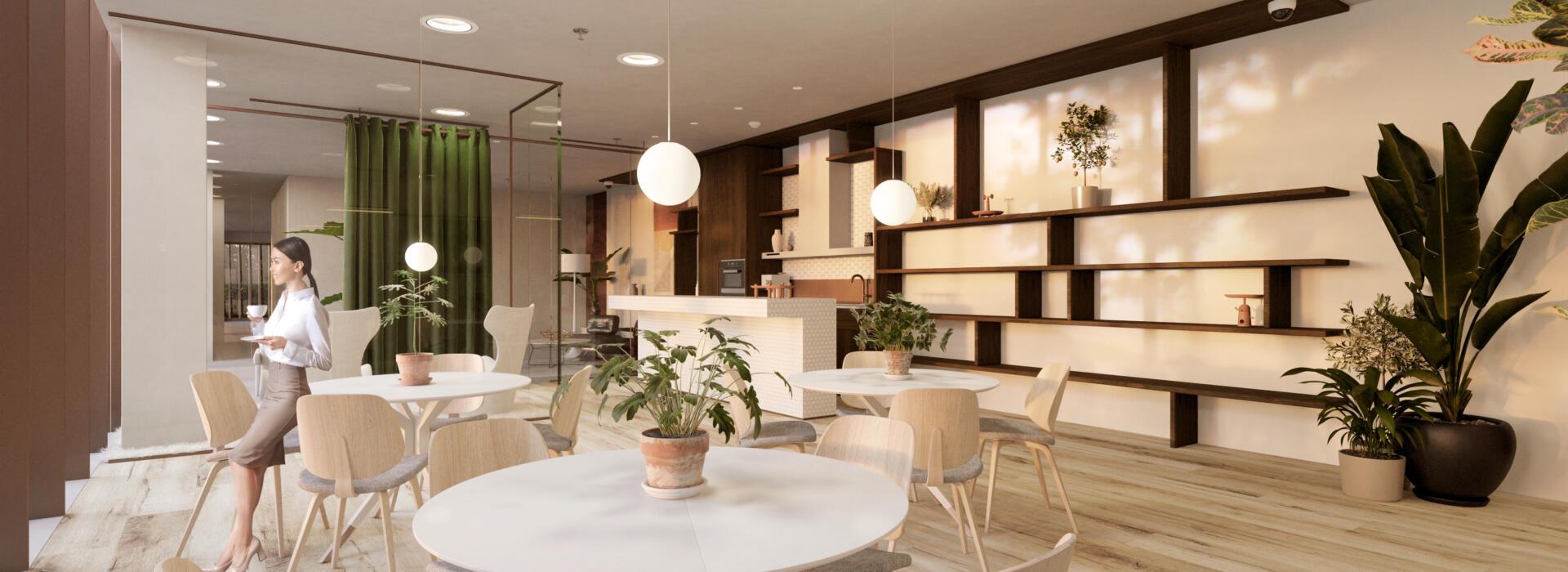 kitchenette lounge 9