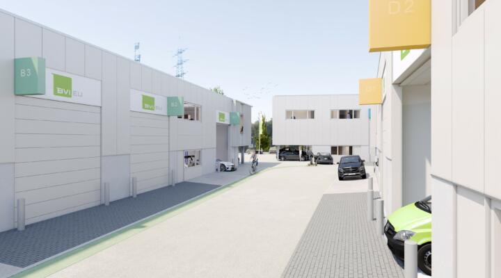 Gewerbepark Carnaperhof: Zentraler Standort für kleine und mittelständische Unternehmen auf Wachstumskurs